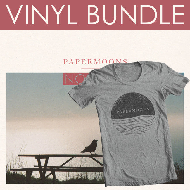 No Love LP Bundle - Paper Moons - Hello Merch