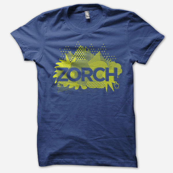 Point/Click Lapis T-Shirt by Zorch for sale on hellomerch.com