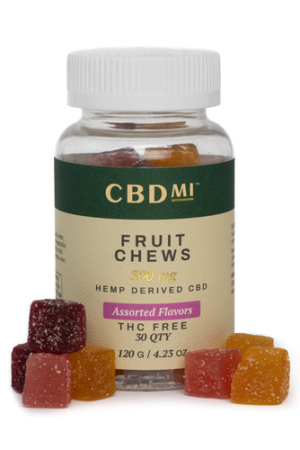 Fruit Chews - Assorted Flavors - 10mg (30ct)