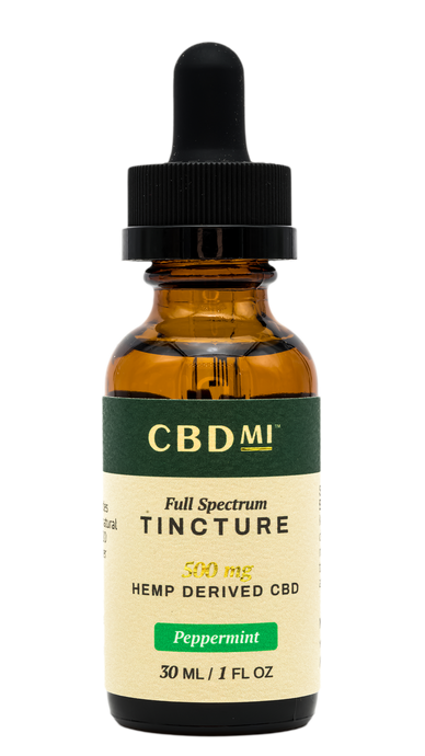 Full Spectrum Tincture - Peppermint - 500mg