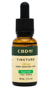 Isolate Tinctures - Peppermint