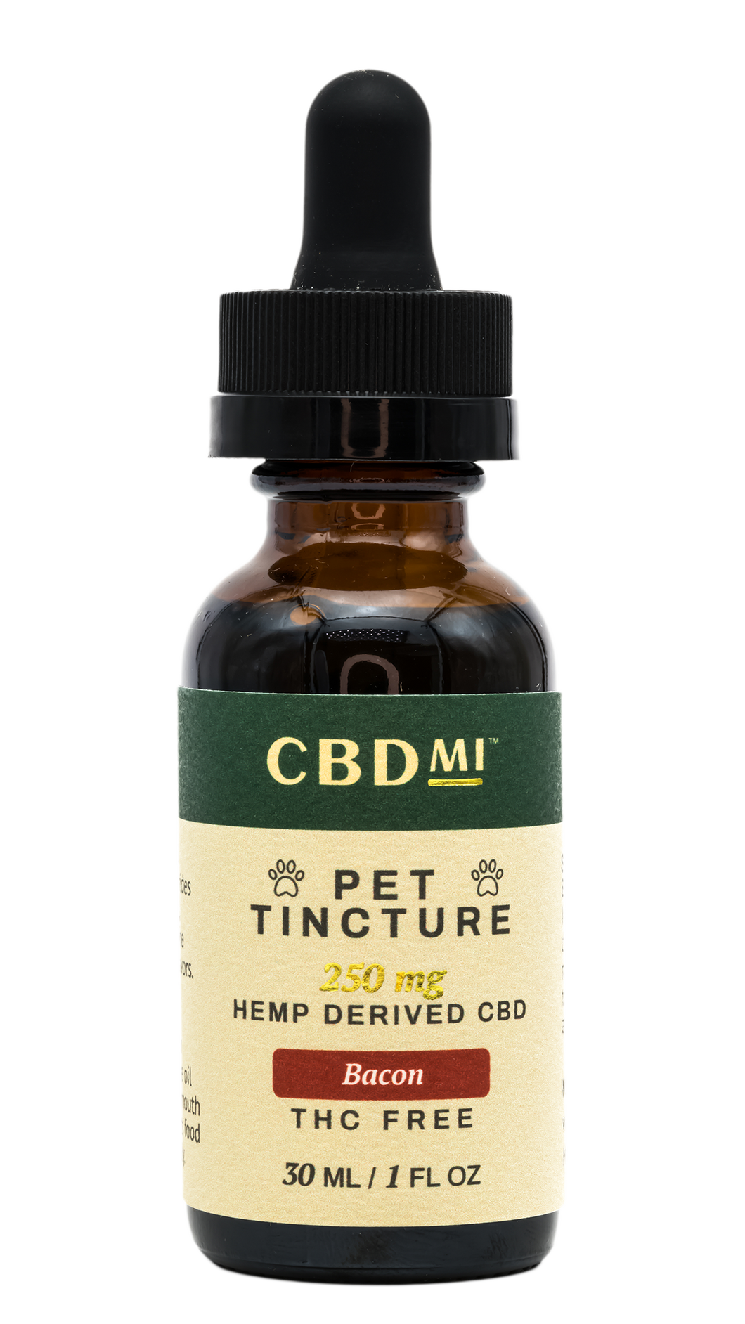 Pet Tincture - Bacon - 250mg