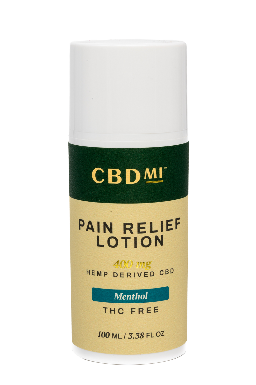 Topical Pain Relief Lotion - Menthol - 400mg
