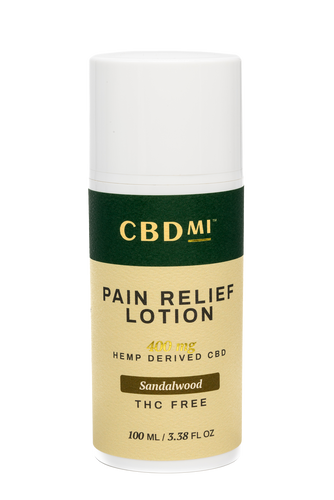 Topical Pain Relief Lotion - Sandalwood - 400mg