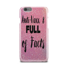 Load image into Gallery viewer, Pink Glitter Anti-Vaxx Phone Case