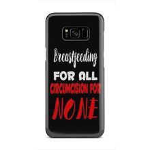 Load image into Gallery viewer, Breastfeeding For ALL Black Phone Case