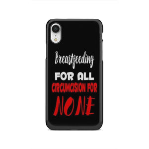Breastfeeding For ALL Black Phone Case