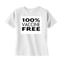 Load image into Gallery viewer, Vaxx Free Toddler T-Shirt