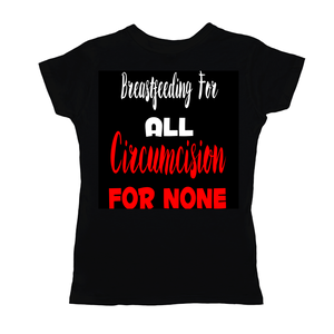 Breastfeeding For All Woman's Black T-Shirt