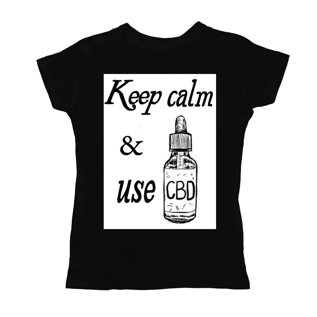 Keep Calm & Use CBD Women's T-Shirts