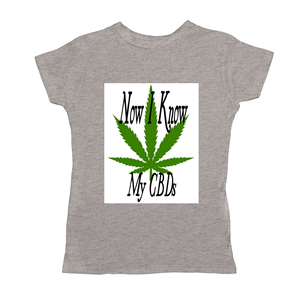 Now I Know My CBDs Women's T-Shirts