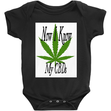 Load image into Gallery viewer, Now I Know My CBDs Unisex Onesies