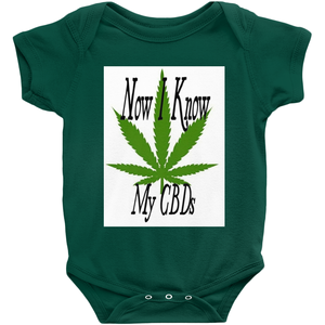 Now I Know My CBDs Unisex Onesies