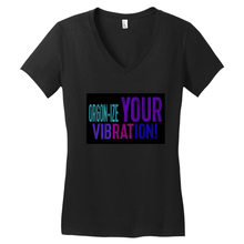 Load image into Gallery viewer, Carpe Diem Nursing Women's Black V-Necks