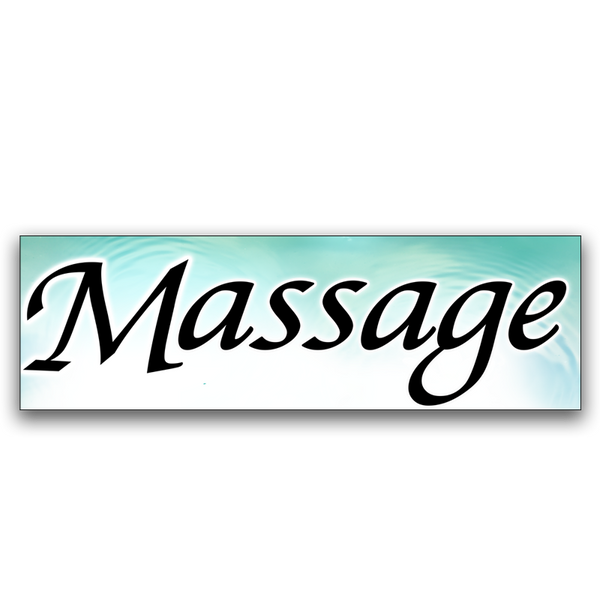 Massage Vinyl Banner (Size Options)