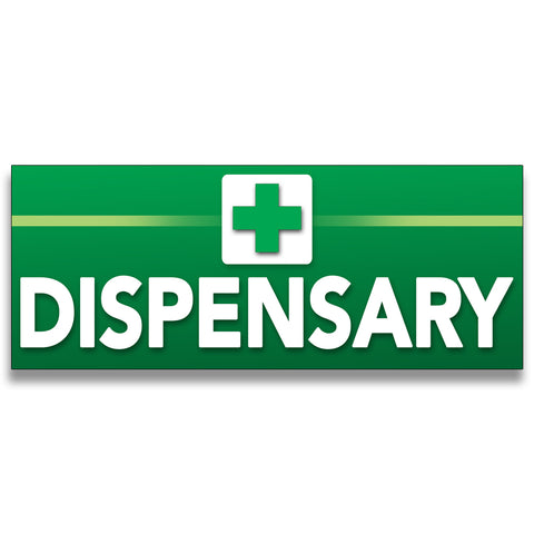 Dispensary Vinyl Banner (Size Options)