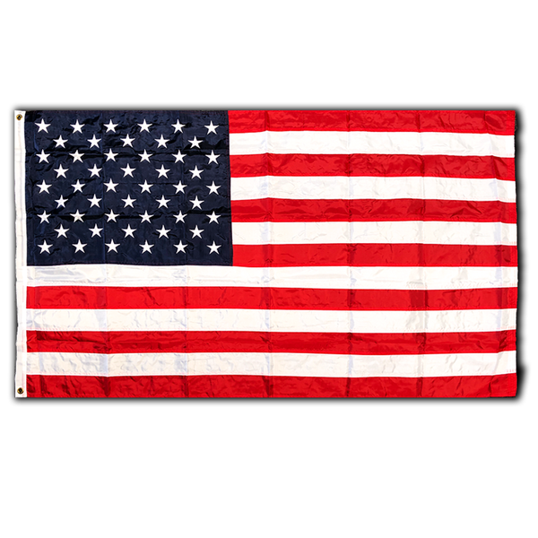 American (USA) Embroidered Nylon 3x5 Flag