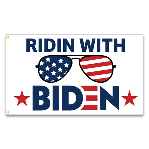 Ridin With Biden Premium 3x5 Flag (Made in the USA)