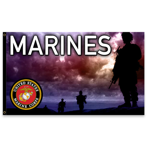 United States Marines Premium 3x5 Flag (Made in the USA)