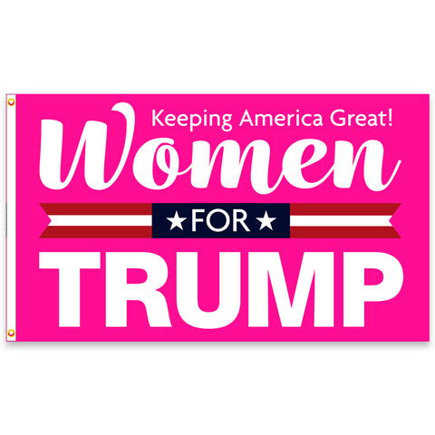 Women For Trump Premium 3x5 Flag