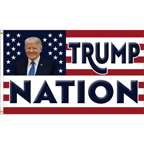 Trump Nation Premium 3x5 Flag