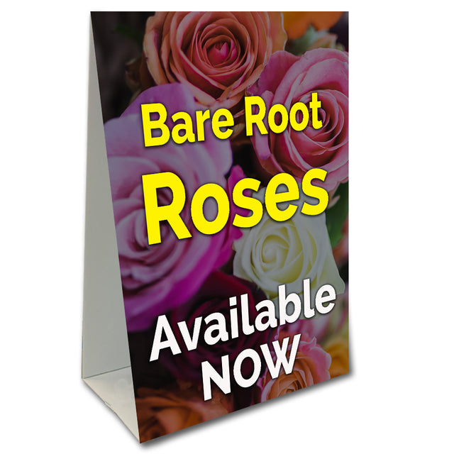 Bare Root Roses Available Now Economy A-Frame Sign