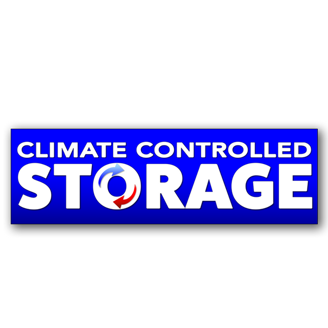 Climate Controlled Storage Vinyl Banner (Size Options)