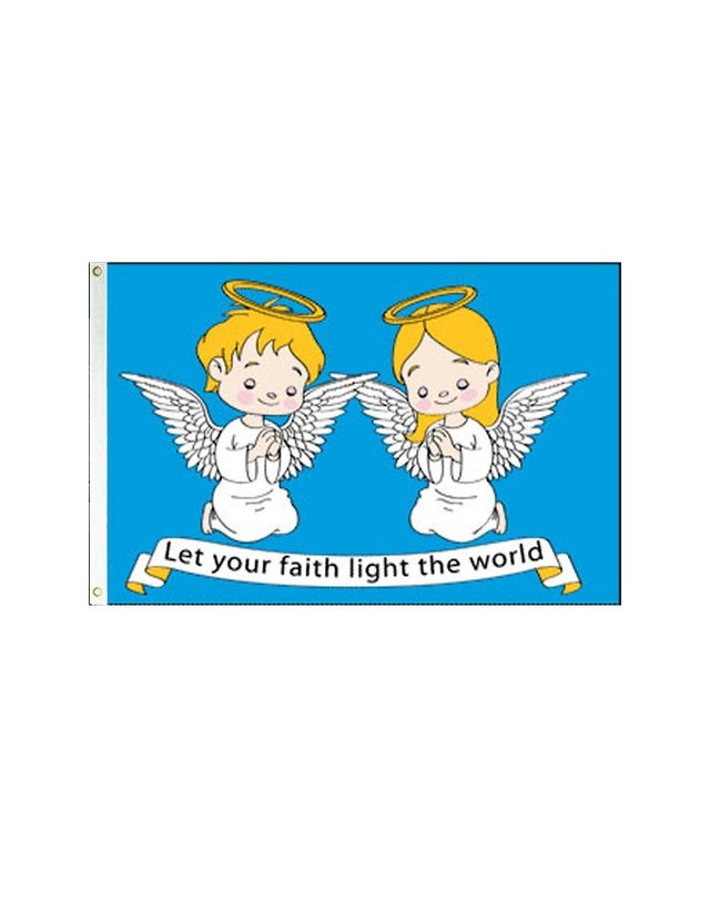 Angel in Faith 3x5 Foot Polyester Flag