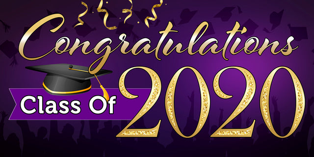 "Congratulations Class Of 2020 (Purple) Magnetic 42"" x 84"" Garage ..."