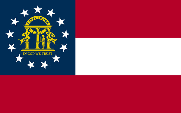 Georgia 3x5 Polyester Flag