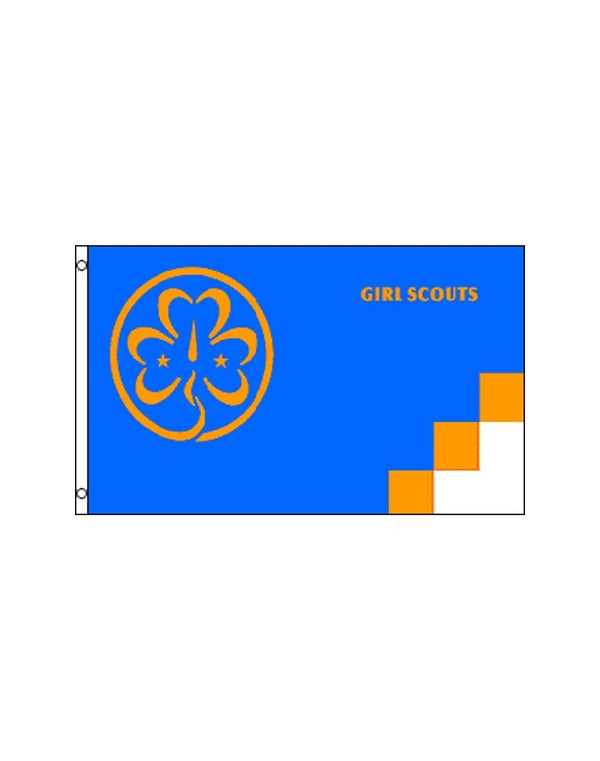 Girl Scouts 3x5 Polyester Flag