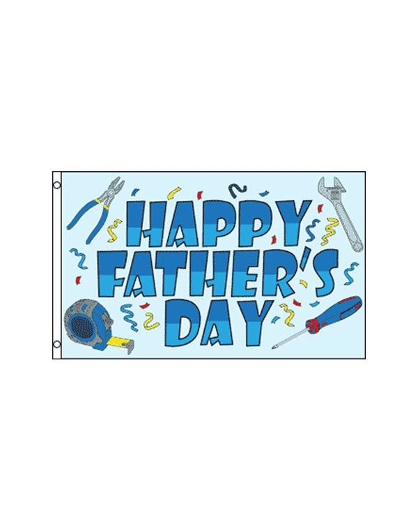 Happy Father's Day 3x5 Foot Polyester Flag