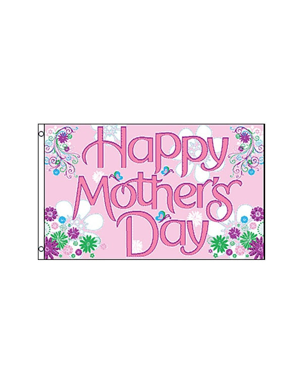 Happy Mother's Day 3x5 Foot Polyester Flag
