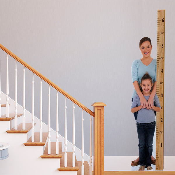 Measure Up Custom Print Growth Chart Standee