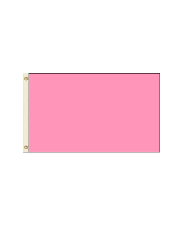 Pink 3x5 Polyester Flag