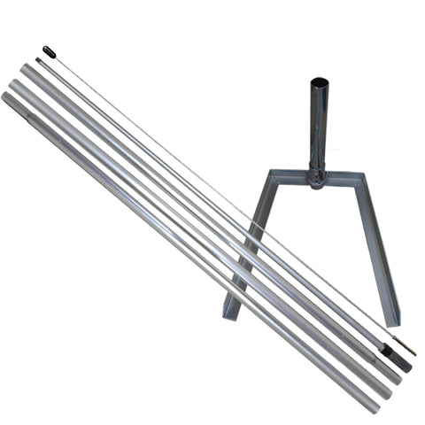 Hybrid Feather Banner Pole & Tire Mount Extension Kit For Our Hybrid and Aluminum Poles