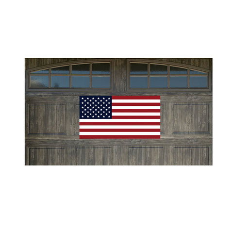 "US Flag 21"" x 40"" Magnetic Garage Banner For Steel Garage Doors"