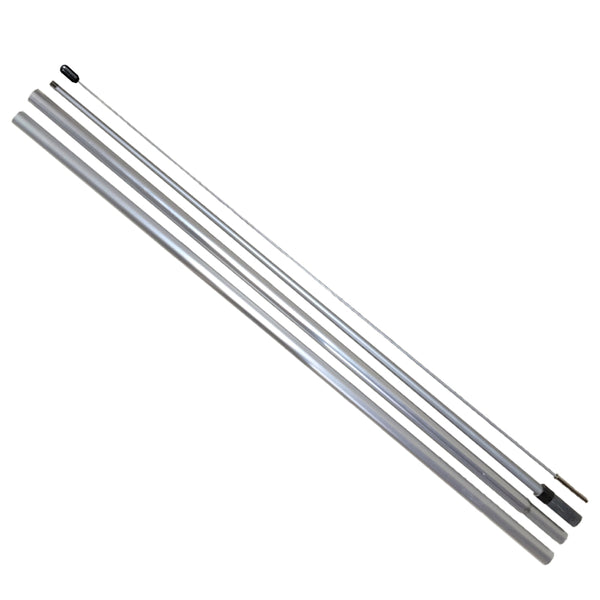 15 Foot Hybrid Aluminum/Fiberglass Pole for Flutter and Windless Flags