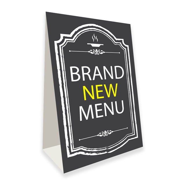 "Brand New Menu Economy A-Frame Sign 24"" wide by 36"" tall (Made in the USA)"