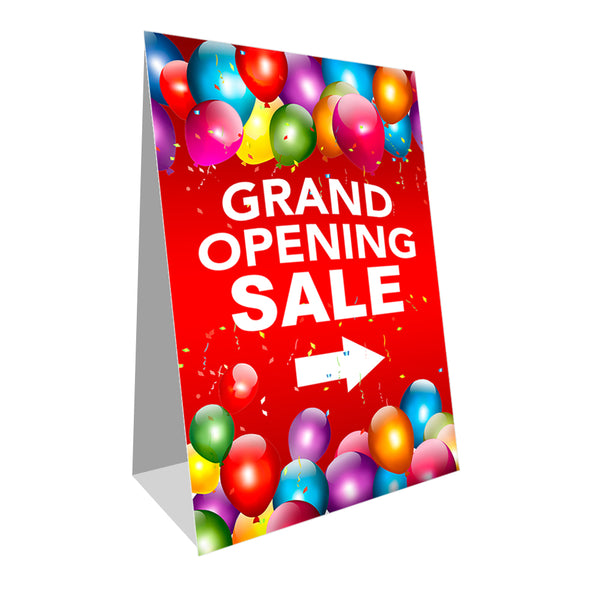 "Grand Opening Sale Economy A-Frame Sign 24"" wide by 36"" tall (Made in the USA)"