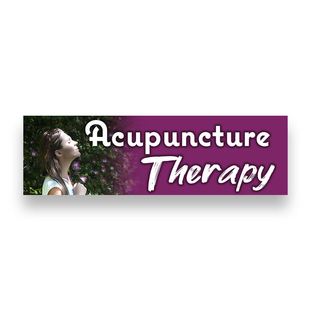 Acupuncture Vinyl Banner (Size Options)