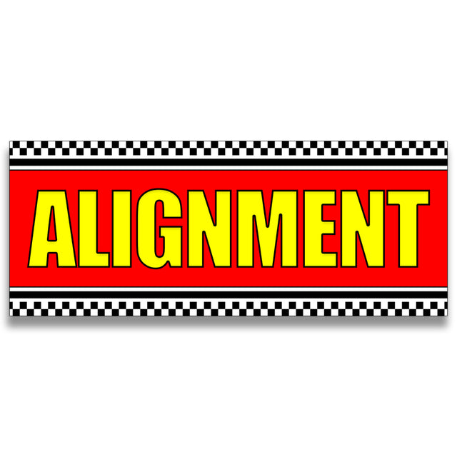 Alignment Vinyl Banner (Size Options)