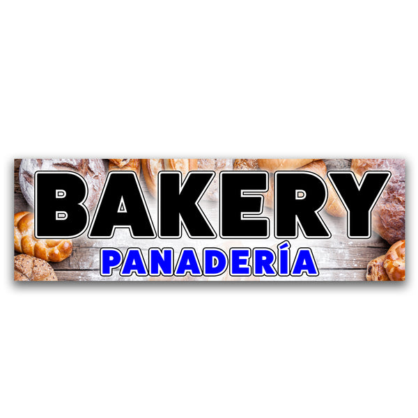 Bakery/ Panaderia Vinyl Banner (Size Options)