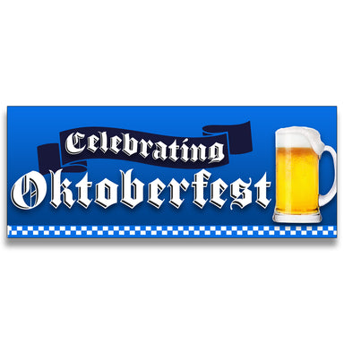 Oktoberfest Vinyl Banner (Size Options)