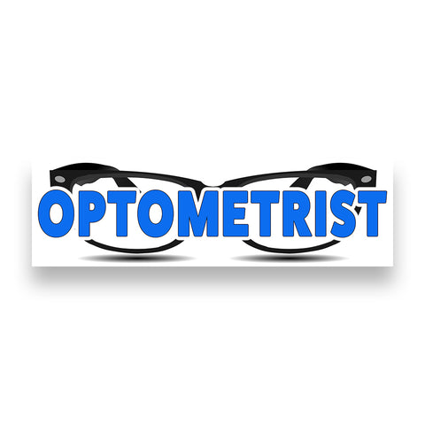 OPTOMETRIST Vinyl Banner (Size Options)