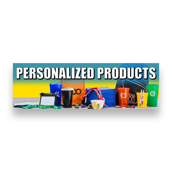 PERSONALIZED PRODUCTS Vinyl Banner (Size Options)