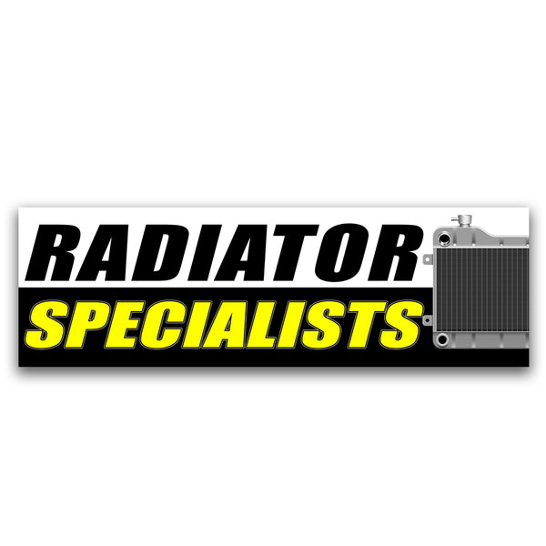 Radiator Specialist Vinyl Banner (Size Options)