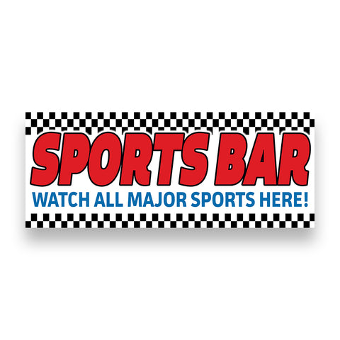 SPORTS BAR Vinyl Banner (Size Options)