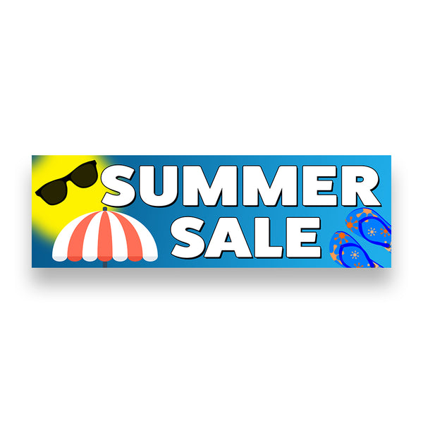 SUMMER SALE Vinyl Banner (Size Options)