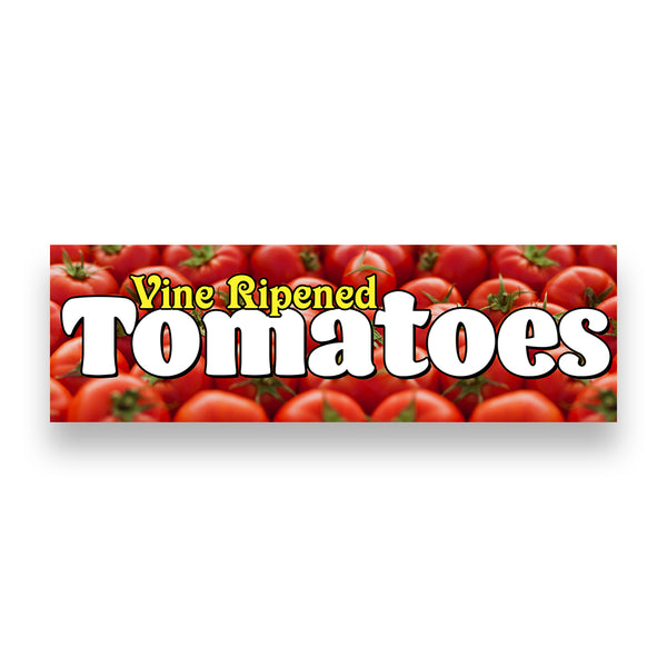 TOMATOES Vinyl Banner (Size Options)